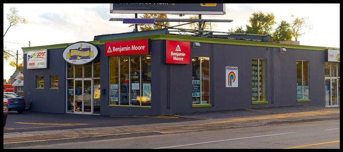 paint depot – 2016 store front